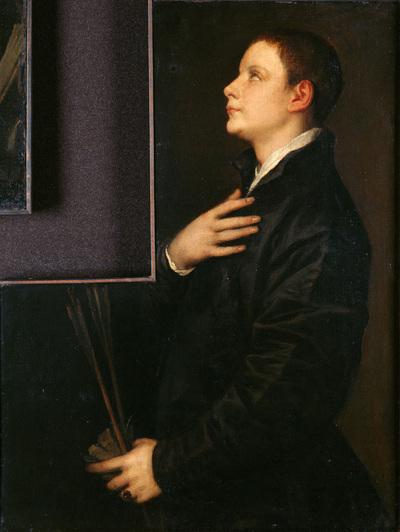 Image from object titled Der Sohn des Orators Francesco Filetto  (?)