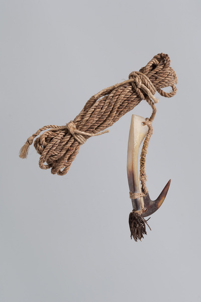Image from object titled Fishing hook with fishing line