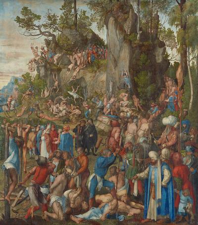 Image from object titled Marter der zehntausend Christen
