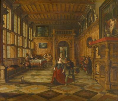 Image from object titled Gesellschaftsszene