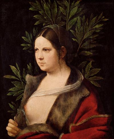 "Image from object titled Bildnis einer jungen Frau (""Laura"")"