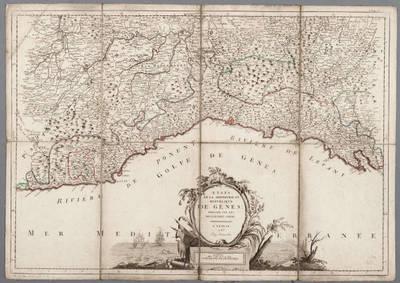 Image from object titled Etats de la seigneurie et republique de Gènes : dressée sur les meilleures cartes