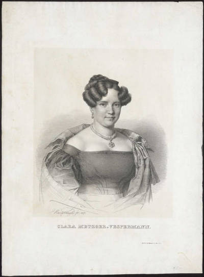 Klara Metzger-Vespermann (1799-1827)
