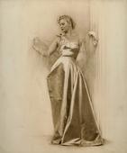 Ritratto di giovane donna a figura intera