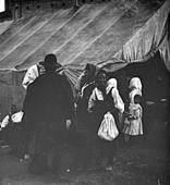 Portrait of a group of pilgrims