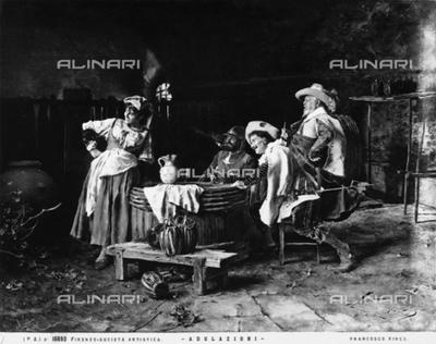 """Adulazioni"" or Adulation, by Francesco Vinea"