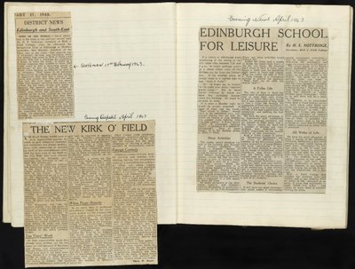 Image from object titled Newspaper Cuttings