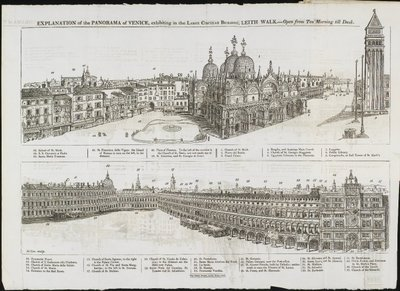 Description of the Panorama of Venice, 1821