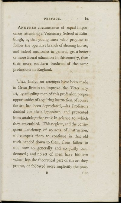 First Lines of Veterinary Physiology & Pathology, Vol.I, 1806