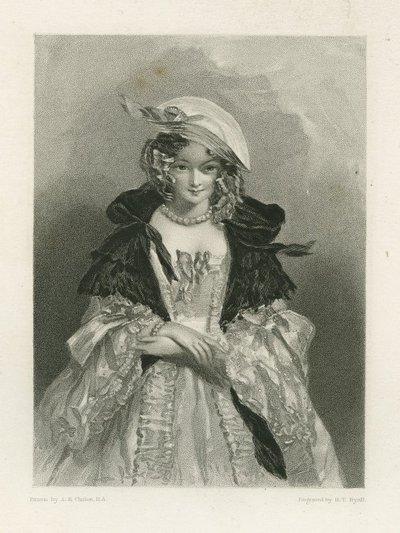 Waverley; or 'Tis Sixty Years Since; [Steel engraving by H. T. Ryall after a drawing by A. E. Chalon of a character from Scott's novel Waverley]