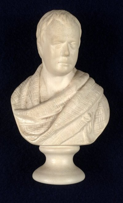 [Portraits]; [Replica bust of Scott after the original by F.L. Chantrey]