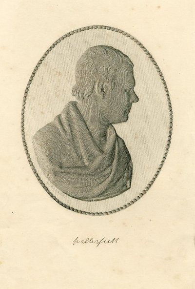 [Portraits]; [Engraved profile portrait of Sir Walter Scott by A. Collas derived from a bust by F. Chantrey]