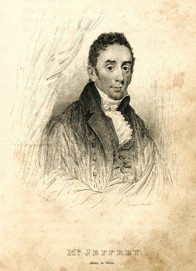Image from object titled Engraved portrait of Francis Jeffrey by J. G. Lockhart; [Portraits]; Mr. Jeffrey