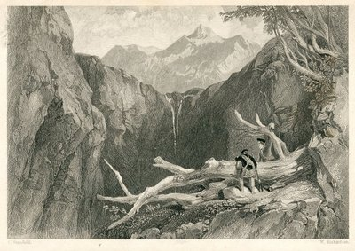 Heart of Mid-Lothian, The; [Engraving of a Highland Pass, near Gairloch, by W. Richardson after C. Stanfield]