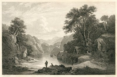 Rob Roy; [Engraving of the Trossachs by W. Richardson after A. Nasmyth]