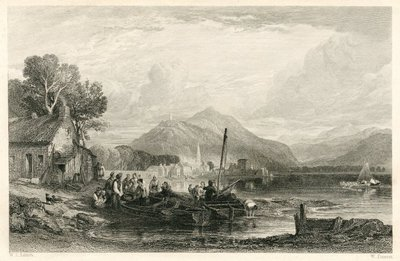 Image from object titled Legend of Montrose, A; [Engraving of Inveraray by W. Forrest after W. L. Leitch]