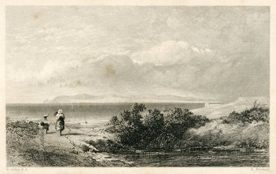 Pirate, The; [Engraving of Thurso Bay and Orkney Islands by R. Brandard after W. Collins]