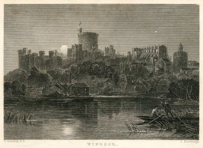 Woodstock; [Engraving of Windsor Castle by J. Horsburgh after T. Creswick]