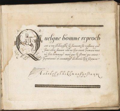 Specimens of Calligraphy