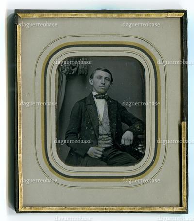 Image from object titled [Porträt eines jungen Mannes]
