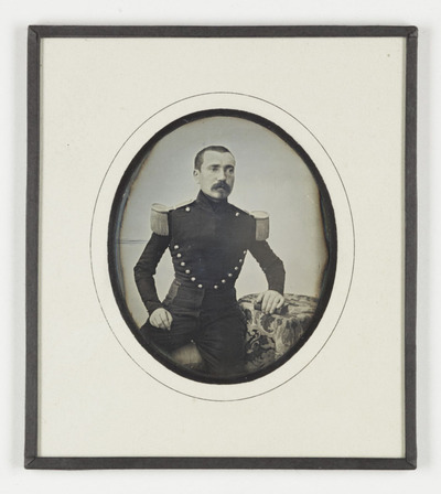 Image from object titled Portrait of  a military man