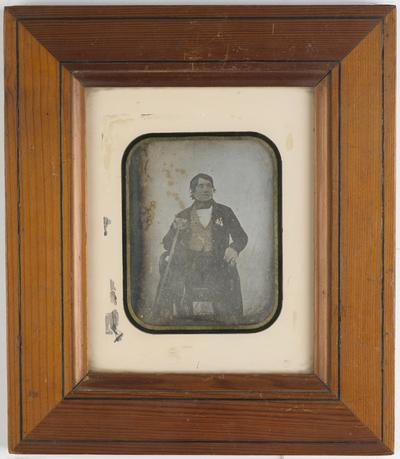 Image from object titled Portrait of an elderly man, Colonel Baron de Pierrebrune