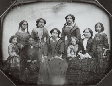 Image from object titled Portrait of the children of Derk Abbing (1801-1852) and Aleida Maria Antonia Middelburg (1805-1898)