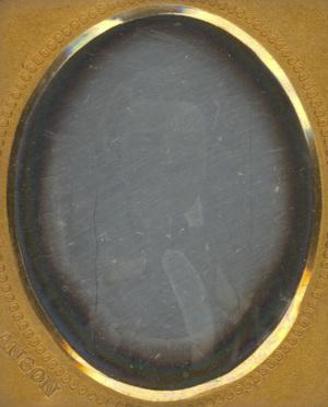 Image 3 x 2,5 cm; Cadre 4,2 x 3,5 cm; Passe partout 3,5 x 3 cm; Portrait d'un homme