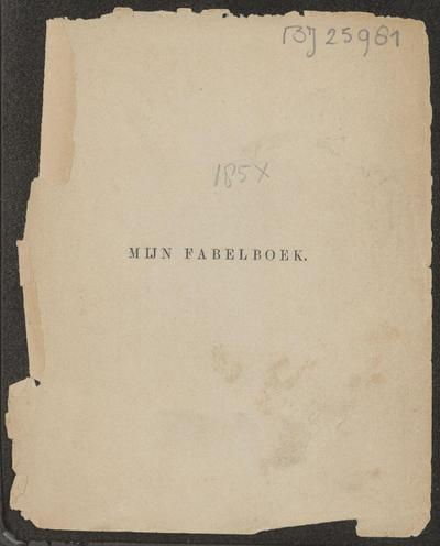 Image from object titled Mijn fabelboek: Catharina