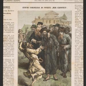 Przejście rabina Izaaka Todrosa przez miasteczko do Ezofowiczów
