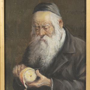"Image from object titled Obraz ""Portret starego Żyda"""