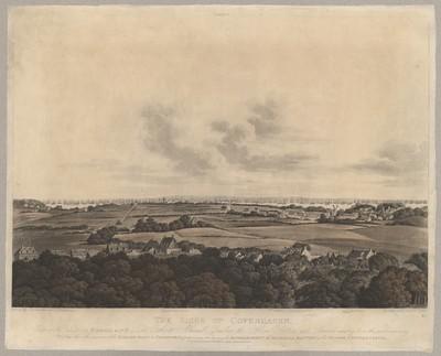 The Siege of Copenhagen. Plate 1