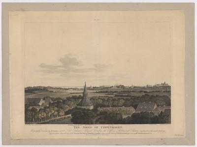 The Siege of Copenhagen. Plate 2