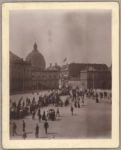 Tilbagekomsten fra Universitetet den 28de Mai 1892