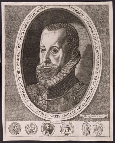 Fridericus Secundus Daniæ ...