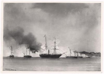 Skibe under Treårskrigen