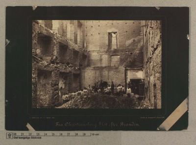 Landstingssalen m. m., set fra Tilhørerpladsen, 5.-7 Oktober 1884