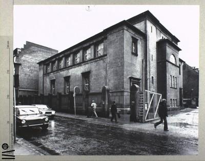Image from object titled Synagogen, d. 11 Januar 1979