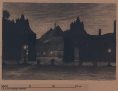 Marmorbroen set mod Ny Vestergade, 1908