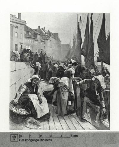 I Sildetiden ved den gamle anlægsplads under Højbro