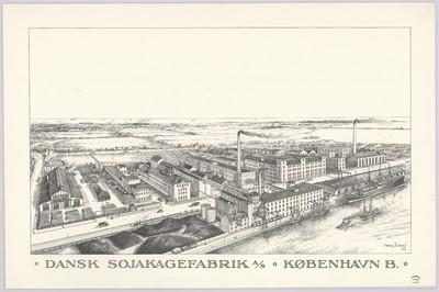Image from object titled Dansk Sojakagefabrik A/S. København B.