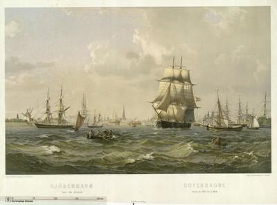 Kjöbenhavn seet fra Sösiden, 1870-1879