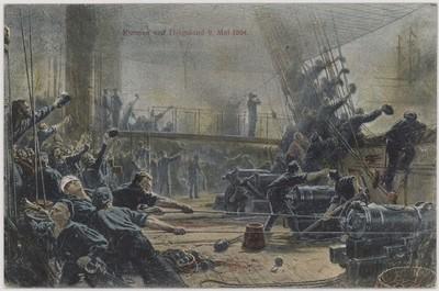 Kampen ved Helgoland 9. Mai 1864
