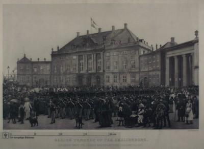 Garden ved Amalienborg, 1893