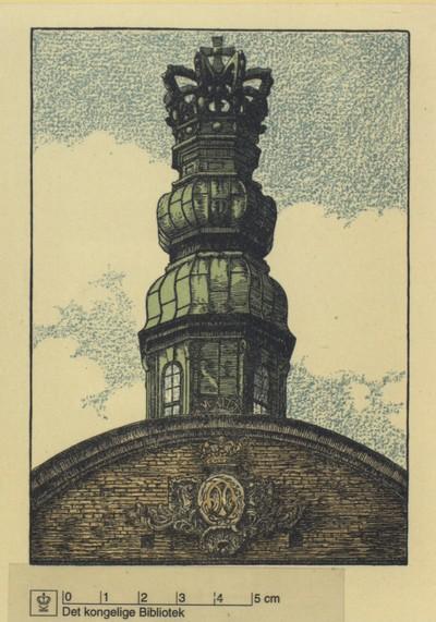 Detaljer fra vagttårnet på Orlogsværftet