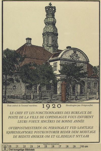 Hovedvagten på Orlogsværftet, 1920