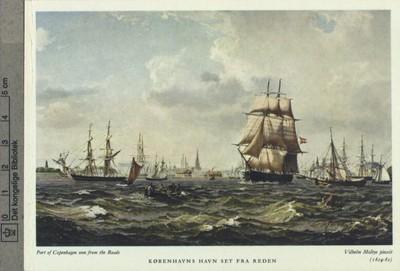 Københavns havn set fra Reden