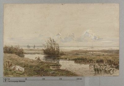 Ved Kallebostrand, October 1862