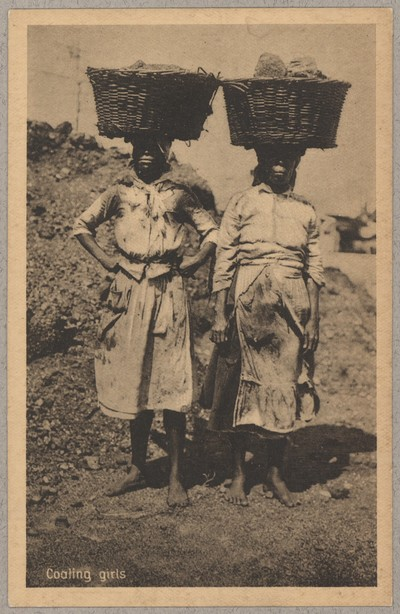 Image from object titled Coaling Girls