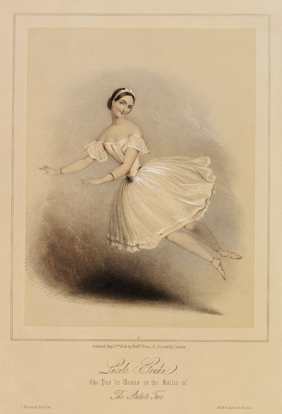 Lucile Grahn, The Pas de Venus in the Ballet of The Stature Fair
